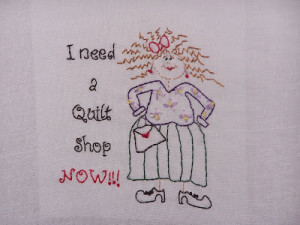 ... sayings or rather i love having my husband stitch quilting sayings for