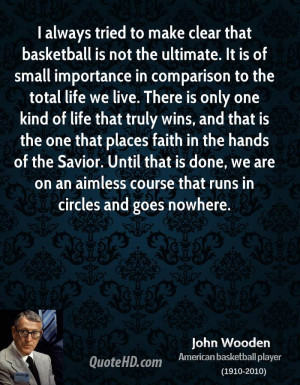 the basketball inspirational quotes will John Wooden Quotes Basketball ...