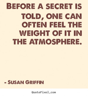Susan Griffin Our Secret