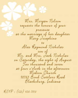 Wedding card sayings