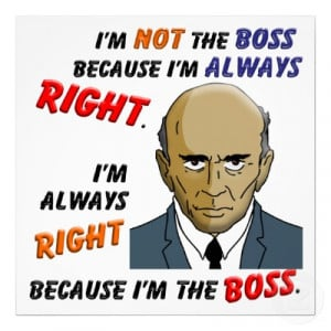 How to spot a bad boss – The ten deadly types to be aware of!