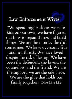 Police Officer WIFE