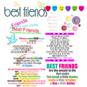 Great best friend quotes :) - Polyvore