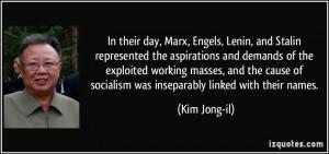 More Kim Jong-il Quotes