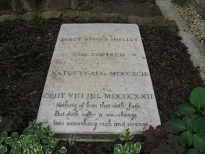 Percy Bysshe Shelley Grave