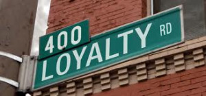 ... the value of Loyalty increased or diminished in business over time