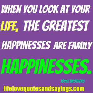 Love My Family Quotes And Sayings