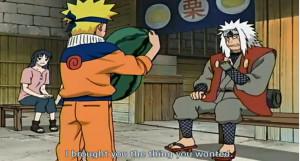 jiraiya and naruto s funny moments pt 2 ninja fruit slicing