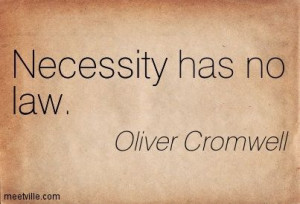 Quotes of Oliver Cromwell.