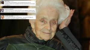 Rita Levi Montalcini ricordata su Twitter