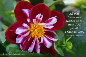 Spring is here. Inspiring quotes and beautiful flowers.