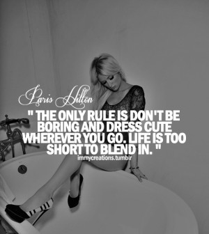 Paris Hilton Quotes on Pinterest | Funny Yearbook Quotes, Yearbook ...