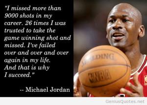 Michael Jordan further added:
