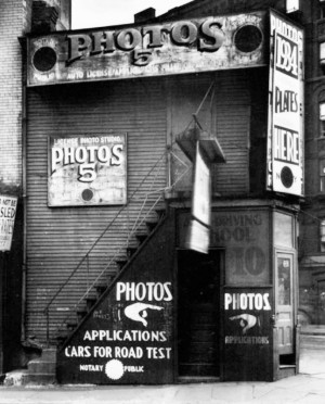 Walker Evans photo library -