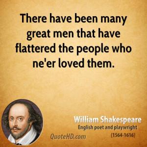 William Shakespeare Men Quotes