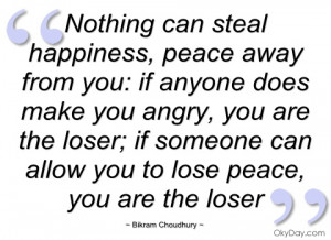 nothing can steal happiness bikram choudhury