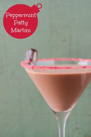 Peppermint Patty Martini.: Patty Martinis, York Peppermint Patties ...