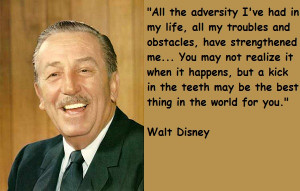 ... has ever existed as my new quotes topic: Walt Disney and his movies