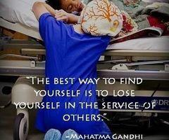 Best way to find yourself – Mahatma Gandhi brainy quotes