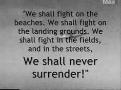 world war quotes. Churchill.