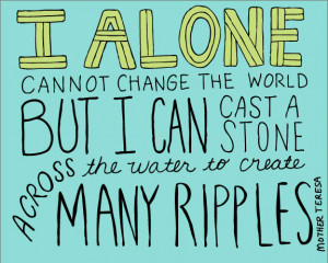 alone cannot change the world | 114