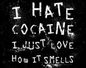 Hate Cocaine T shirt Funny Blow M ature Drug Party Club EDM Tee ...