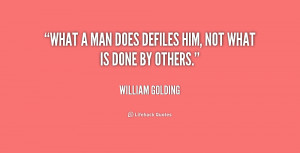 William Golding Quotes About Savagery