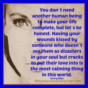 Feeling Loved Makes You Calm..
