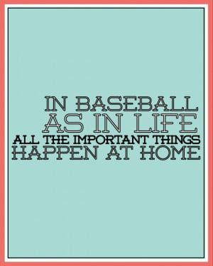 Baseball is life! (Includes 3 printables)