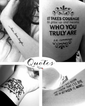 Tattoo Quotes for Baby Girls