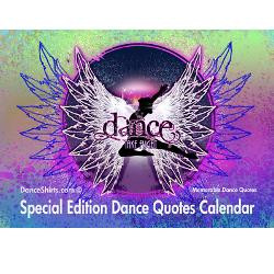 dance_quotes_calendar_greeting_card.jpg?height=250&width=250 ...