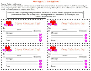 Valentines Day Candy Grams. Elementary Graduation Quotes And Sayings ...
