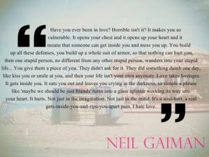 Love quotes neil gaiman 1