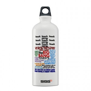 Big Bang Quotes Sigg Water Bottle