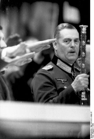 ... Photos » German Field Marshal Keitel at a state event, Germany, 1942