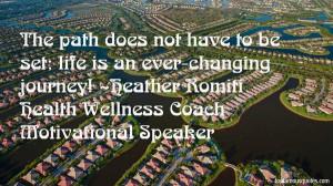 ... Heather Romiti Health Wellness Coach Motivational Speaker Quotes