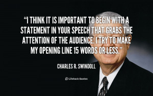 Charles R Swindoll Quotes