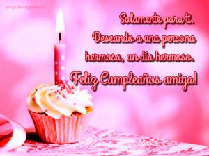 Imágenes de feliz cumpleaños amiga muffin