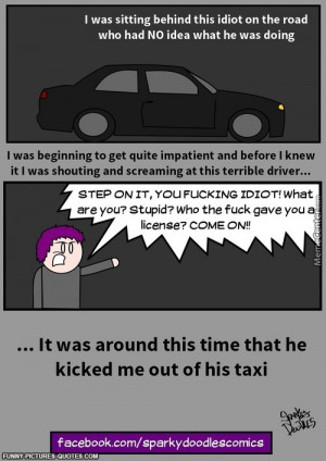 Sparky Doodles: Bad Driving   Funny Pictures and Quotes