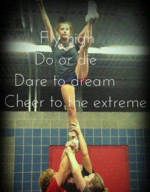 Cheer Stunt Backgrounds #cheerleading #stunt #quote