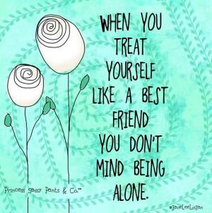 Treat Yourself Queen Quote