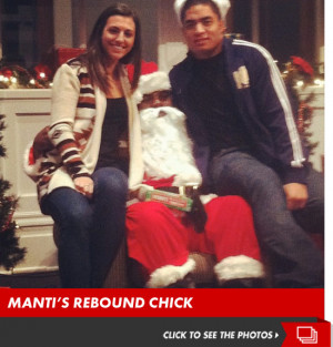 Manti Te'o -- Rebounded with ACTUAL Girl, When Fake Girlfriend 'Died ...