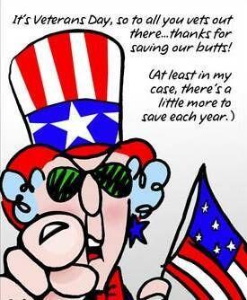maxine patriotic cartoons   Veterans Day Maxine Thanks Patriotic Flag ...