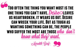 Meredith Grey Quote #provestra: Woman Crush