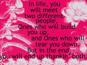 Different People quote #2
