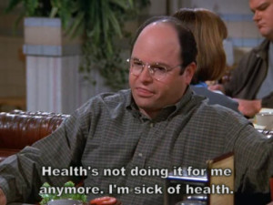 Seinfeld George and his health