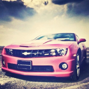 ... daily dose of Pink Chevy Camaro ! We love Girly Cars! Enjoy