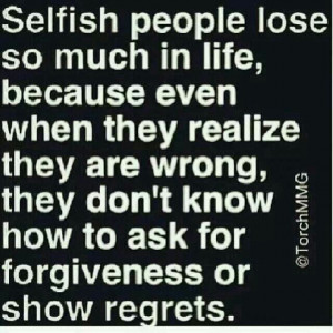 Selfish People