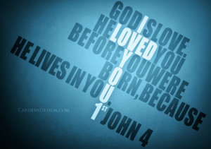 God Is Love Graphic HD Wallpaper background for your desktop, laptop ...