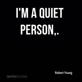 quiet person